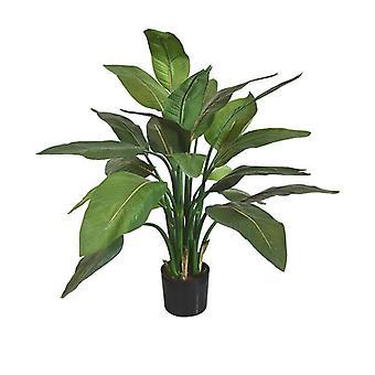 Planta artificial Strelitzia artificial 95 cm verde