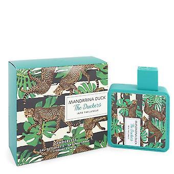 Into The Jungle Eau De Toilette Spray (Unisex) door Mandarina Duck 3.4 oz Eau De Toilette Spray