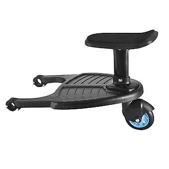 Buggy Stroller Step Board Stand Child Wheeled Pushchair Connector