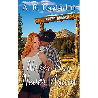 Never Say Never Again by A E Easterlin - 9781509213184 Book