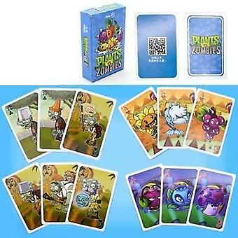 Characters Poker Cards Pvz Game Card