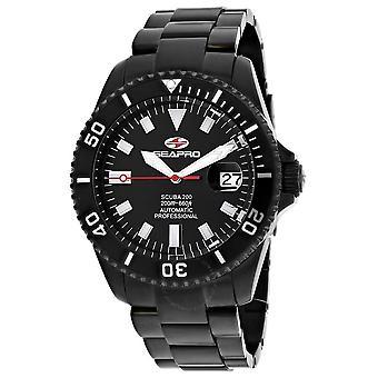 Seapro Scuba 200 Automatic Black Dial Men's Watch SP4328
