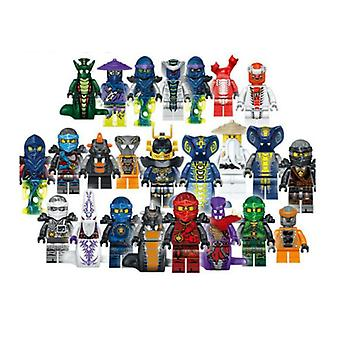 Ninjago Mini Figures Ensemble de 24pcs