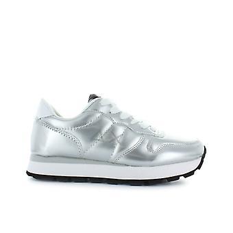 Sun68 Silver Ally Patent Body Sneaker