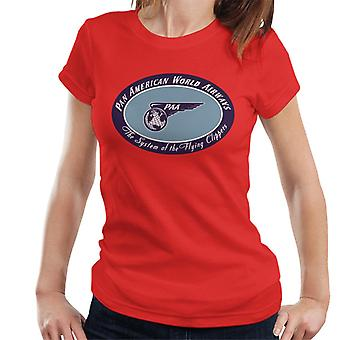 Pan Am The System Of The Flying Clippers Women's T-Shirt