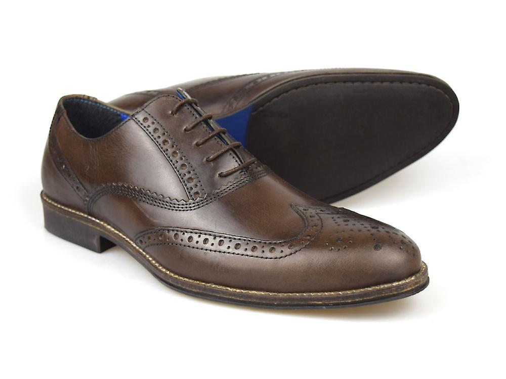 Red Tape Kildare Brown Men's Leather Formal Brogue Shoes
