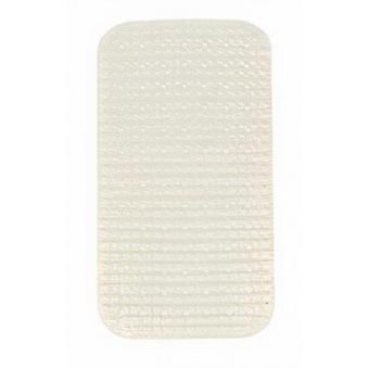 bath mat 68 x 38 cm PVC cream