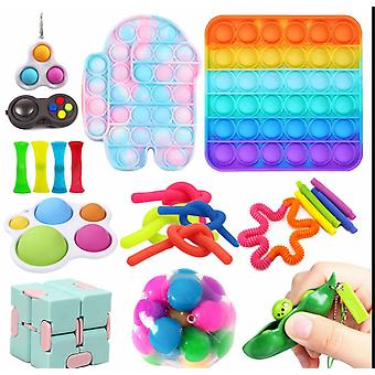 20 Pack Sensory Toys Set Relieve Stress And Anxiety Fidget Toy