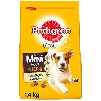 Pedigree Food for Adult Dogs Mini Flavor Chicken and Vegetables