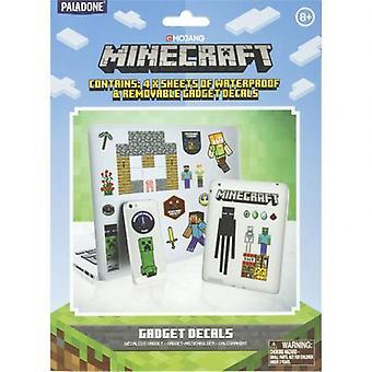 Minecraft Tech Stickers
