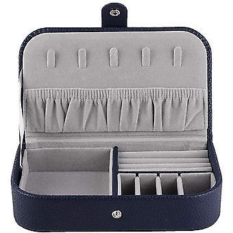 FengChun Travel Jewelry Box  Aufbewahrungskoffer fr Halskette, Ohrringe, Ringe, tragbarer