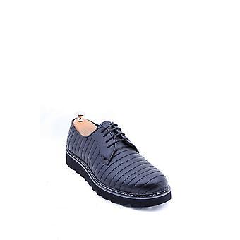 Leather eva sole black shoes | wessi