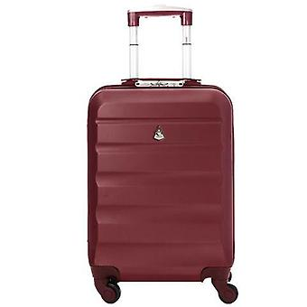 Aerolite (55x35x20cm) léger bagage à main de cabine à coque dure - vin