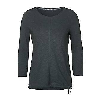 Cecil 315274 3/4-Arm Shirt T, Slate/Green, XS Woman