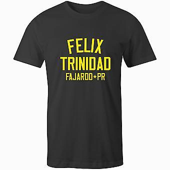 T-shirt leggenda del pugilato di Felix Trinidad