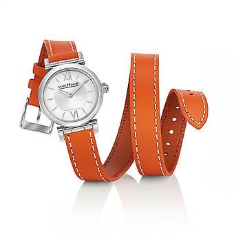 Montre Femme Saint Honor 7225111AIN-O - Orange Läderrem
