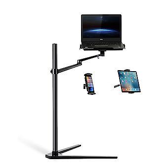 Multifunctional 3 In 1 Computer Floor Stand