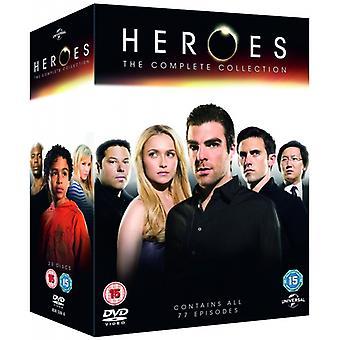 Heroes: Die komplette Serie 1-4 DVD
