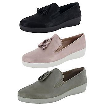 Fitflop Femmes Tassel Superskate Shimmery Loafer Chaussures