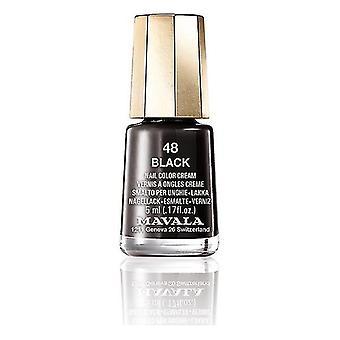 Nail polish Nail Color Mavala 48-black (5 ml)