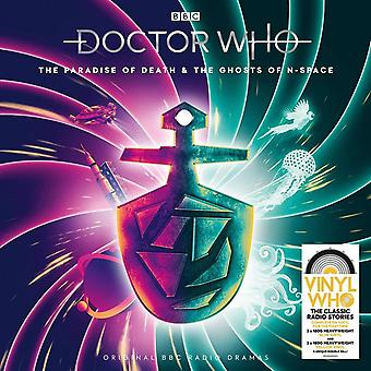 Doctor Who - Dödens paradis & Spökena i N-Space Limited Edition Blå & Gul Vinyl