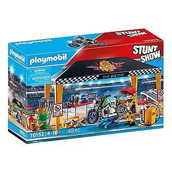 بلاي سيت Stuntshow المرآب بلاي موبيل 70552 (49 أجهزة الكمبيوتر الشخصية)
