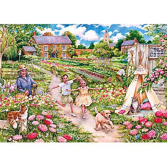 Gibsons Childhood Memories Jigsaw Puzzle (500 Pieces)