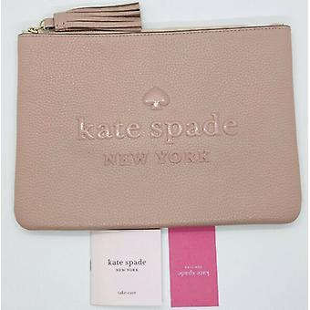Kate Spade Logo Grande Tassel Bolsa Empoeirada Couro Rosa WLRU5605