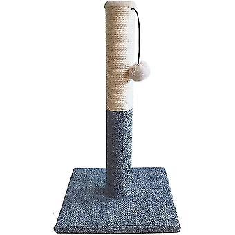 Kočka škrábání Post Nový vzor Šedý koberec Wear Resistant Pet Cat Grab Post Cat Claw Grinding Cat
