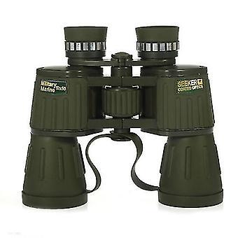 مناظير المحمولة المشي لمسافات طويلة 60x50 الجيش المناظير القوية القابلة للتكبير