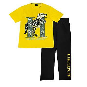 Harry Potter Huffelpuff Meisjes Lange Pyjama Set | Officiële Merchandise