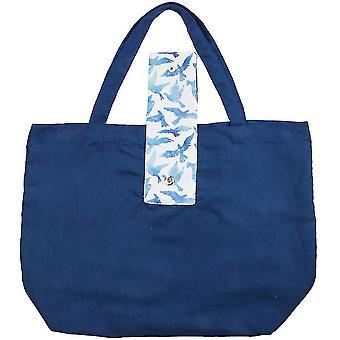 Bolsa de compras plegable reutilizable bolso de mano de comestibles ecológico