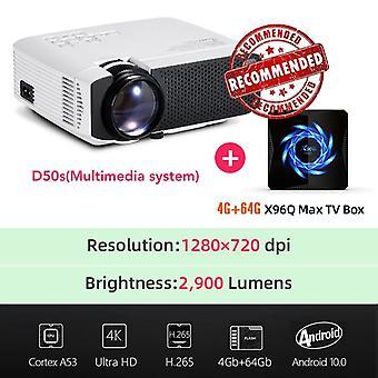 Aun Mini Projektori tuki 4k Full Hd 1080p Kotiteatteri 3d Video Projektori