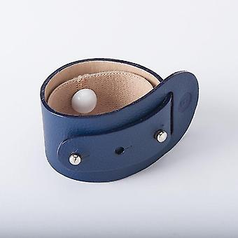 Bracelet en cuir de soulagement de nausée