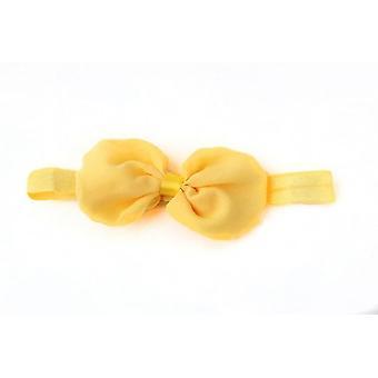 Neugeborene Schleife Haarband -Stirnband Süße 3D Blumen Stil