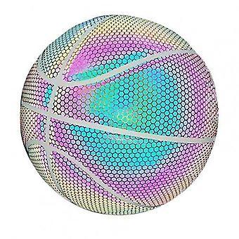 متوهجة عاكسة لكرة السلة، ثلاثية الأبعاد مضيئة الملحقات الرياضية