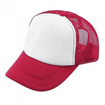 Summer Plain Trucker Mesh Hat Snapback Blank Baseball Cap Adjustable Taille réglable