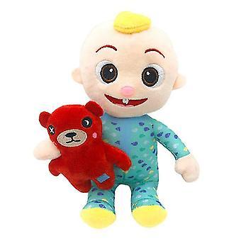 Stuffed animals cocomelon jj boy bear plush musical doll educational stuffed sounding toys christmas gift