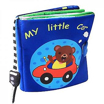 Baby Soft Cloth Books Toddler Early Learning Develop Cognize Toys For Kids
