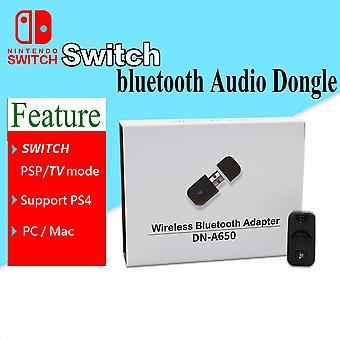 Подходит для Nintendo Switch Ps4 Bluetooth Беспроводная гарнитура Адаптер Передатчик ПК Ps4 Bluetooth Приемник