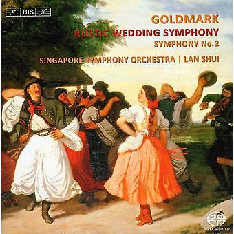Karl Goldmark - Karl Goldmark: Rustic Wedding Symphony; Symfonie No. 2 [SACD] USA importeren