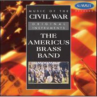 Americus Brass-Band - Musik von den Bürgerkrieg [CD] USA import