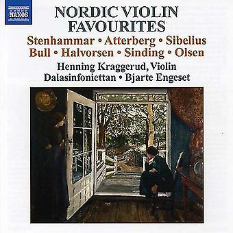 Stenhammar/Sibelius/Olsen/Sinding/Bull - Pohjoismainen viulu suosikkeja [CD] USA tuonti