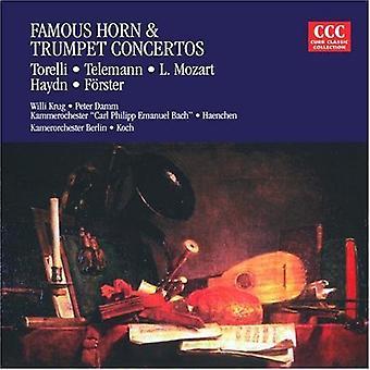 Torelli/Haydn - importation USA célèbre corne & trompette Concertos [CD]