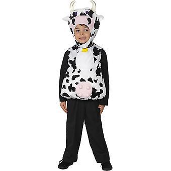 Traje de niño de traje los niños Moo vaca de la vaca