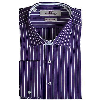 Claudio Lugli Classic Pinstripe Mens Shirt
