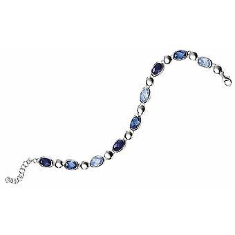 925 zilveren kristal armband