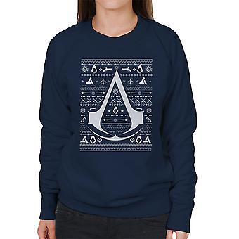 Kerst brei Assassins Creed vrouwen Sweatshirt