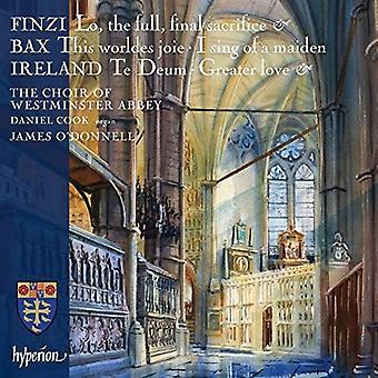 Westminster Abbey Choir O'Donnell, J. - Finzi Bax & Ireland: Choral Music [CD] USA import