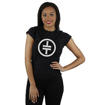 Prendre Logo blanc T-Shirt du que les femmes